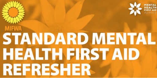 FREE Standard Mental Health First Aid REFRESHER [Esperence]
