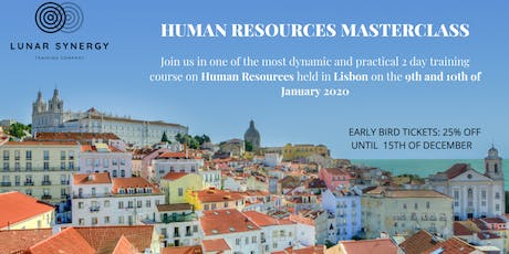 Human Resources Masterclass - Lisbon tickets