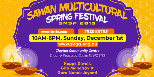 2019 Sawan Multicultural Spring Festival
