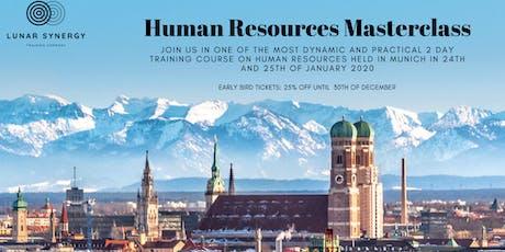 Human Resources Masterclass - Munich Tickets