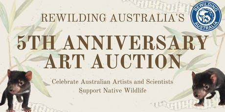 Rewilding Australia's 5th Anniversary Art Auction tickets