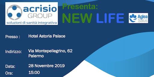 Presentazione aziendale progetto NEWLIFE di Acrisio Group -Palermo