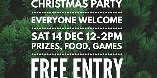 Christmas Party - Free ENTRY