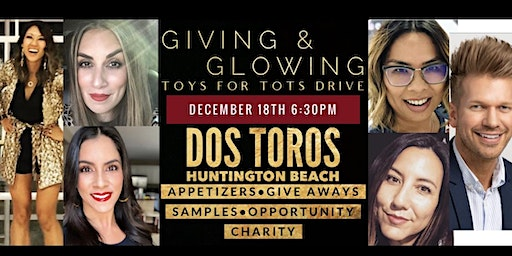 R+F Giving & Glowing Toys for Tots Drive