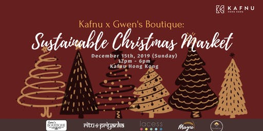 Kafnu x Gwen's Boutique: Sustainable Christmas Market