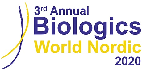 3rd Annual Biologics World Nordic 2020 tickets