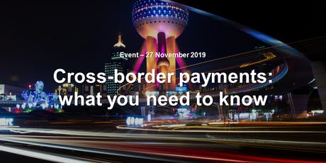 Cross-border payments: what you need to know tickets