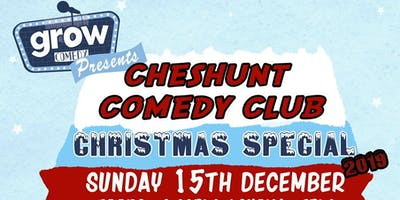 Cheshunt Comedy Club Xmas Special 2019!