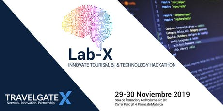 III LAB-X - Innovación en turismo y tecnología hackathon entradas
