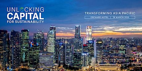 Unlocking capital for sustainability 2020 tickets