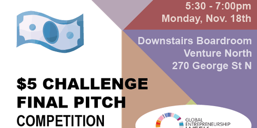 $5 Challenge Final Pitches