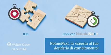 Presentazione NotaioNext a Piacenza biglietti
