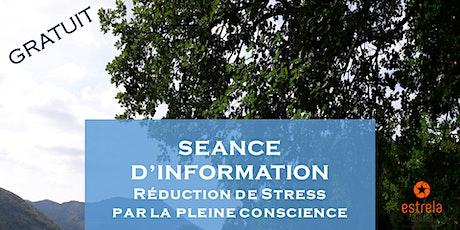 Séance d'information GRATUITE sur la MBSR : Réduire le Stress par la Pleine Conscience billets