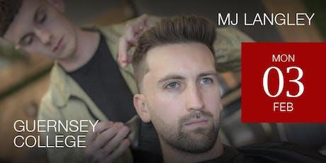 Guernsey Modern Barbering Workshop featuring M J Langley tickets
