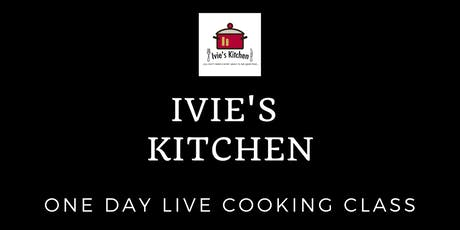 A 1-Day Live Cooking Class tickets