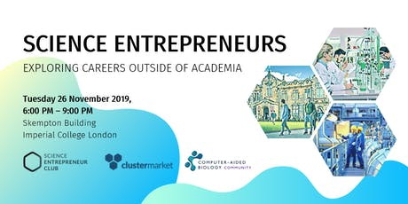 Science entrepreneurs: exploring careers outside of academia tickets