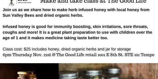 Herbal Honey Infusion : Make and take class