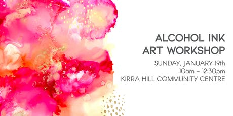 Alcohol Ink Abstract Art Workshop - January 19 tickets