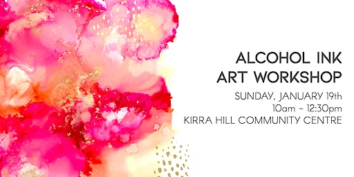 Alcohol Ink Abstract Art Workshop - January 19