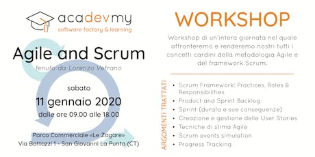 Agile and Scrum Workshop biglietti