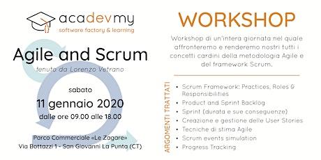Agile and Scrum Workshop biglietti