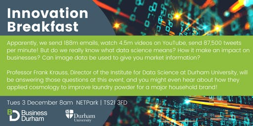 Innovation Breakfast - Data, How can it make an impact on businesses?