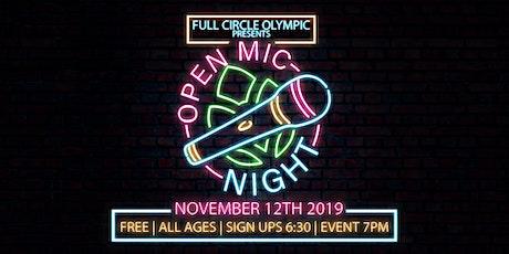 Open Mic Night tickets