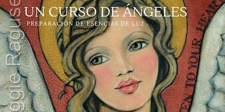 """""""Un Curso de Ángeles y Preparaci´on de Esencias de Luz"""" entradas"""