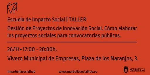 """Taller """"Cómo elaborar los proyectos sociales para convocatorias públicas""""."""