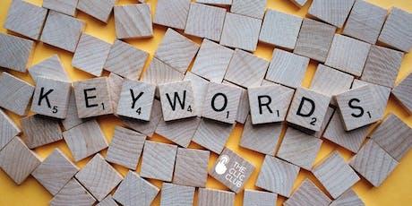 Taller de Keywords para campañas de Adwords en Google entradas