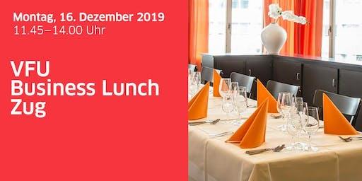 Business-Lunch Zug vom 16. Dezember 2019