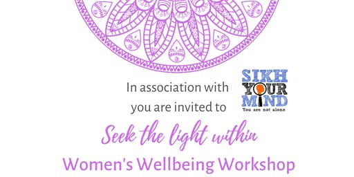 Seek The Light Within - Women's Wellbeing Workshop