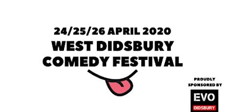 West Didsbury Comedy Festival 2020 tickets
