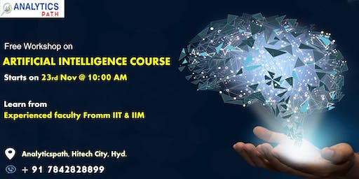 Book Your Seat for Artificial Intelligence Free Interactive Workshop