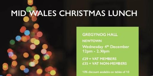 Mid Wales Christmas Networking Lunch