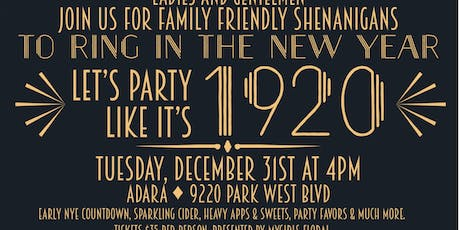 Family Friendly NYE Party tickets