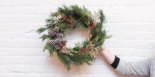 Holiday Wreath Workshop @ DeWolfe Leather Goods
