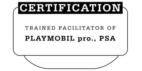 Trained Facilitator of PLAYMOBIL pro., PSA – mit Mathias Haas Tickets
