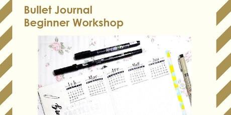 Bullet Journal Beginner Workshop (Family-friendly) tickets