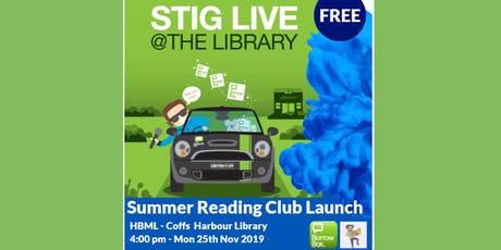 Stig Wemyss - Live at the Library - Summer Reading Club Launch tickets