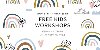 Free Kids Workshops by the beach