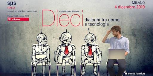 Conferenza Stampa - Dieci dialoghi tra uomo e tecnologia