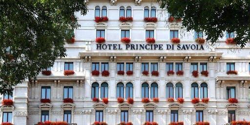 Aperitivo allo splendido Hotel Principe di Savoia - AmaMi Communication
