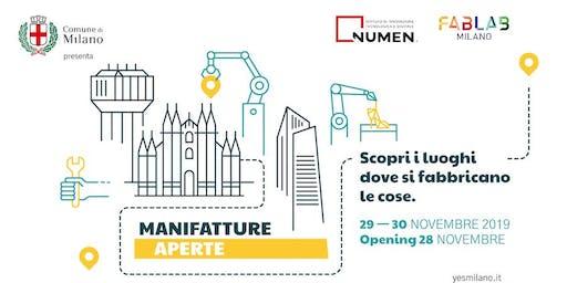 Manifatture Aperte-WORKSHOP E LABORATORI PER LA MODELLAZIONE E LA STAMPA 3D