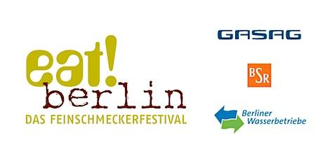 eat! IM KIEZ: Wohnzimmer mit Ausblick - Terrassenmosel im Berliner Friedrichshain Tickets