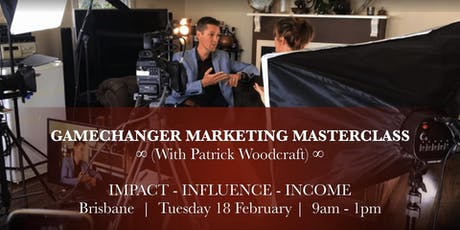 Gamechanger Marketing Masterclass - Brisbane tickets