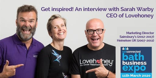 Get Inspired! An Interview with Sarah Warby, CEO of Lovehoney