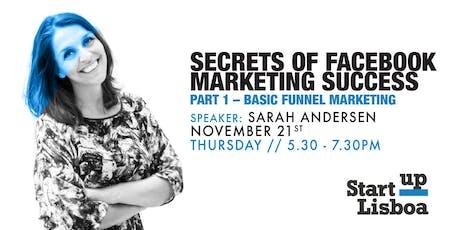 Secrets of Facebook Marketing Success tickets