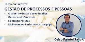Rodada de Negócios + Palestra: Gestão de Processos e...