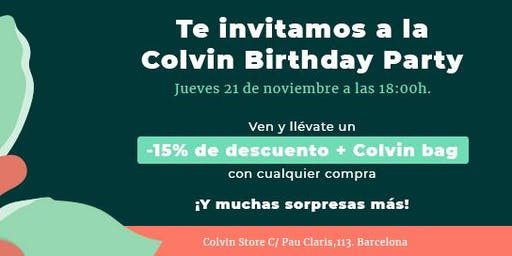 Colvin Birthday Party